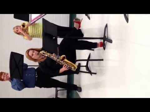 North Callaway high school jazz band 2013-2014