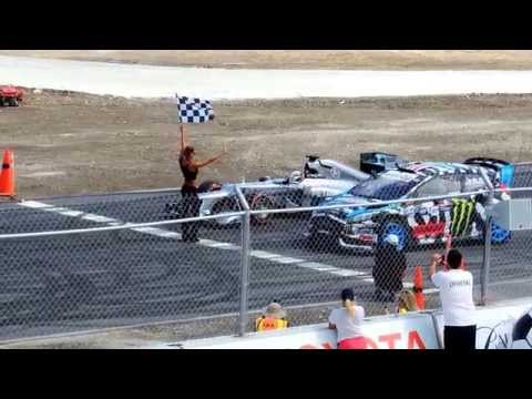 Lewis Hamilton And Ken Block video