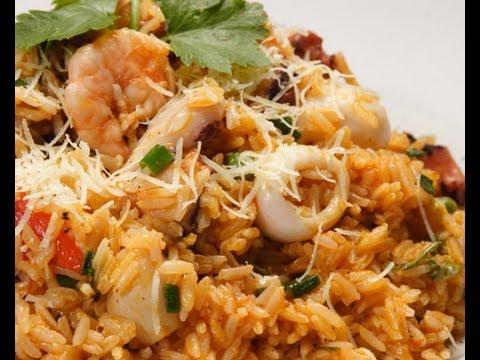 Arroz con mariscos- Cursos privados de cocina peruana  - Informes : debajo del video