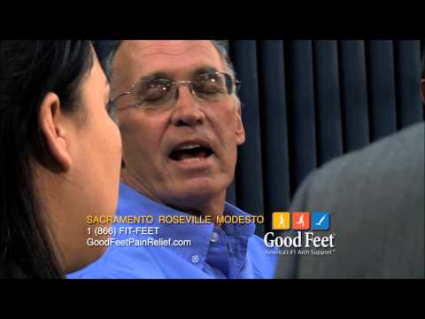 Good Feet Sacramento- Roseville - Modesto Foot Pain relief
