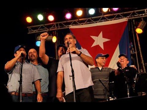 SILVIO RODRIGUEZ Homenaje a los cinco heroes cubanos Diciembre 20 2014