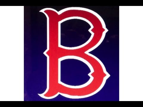b Logo Red And Black Boston Red Sox Quot b Quot Logo