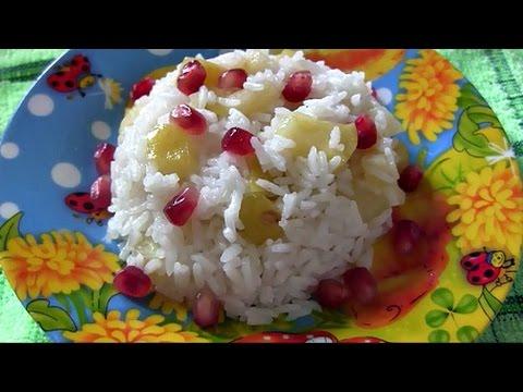 Рисовая каша с яблоком для детей в мультиварке Rice Porridge With Apple For Kids In A Slow Cooker
