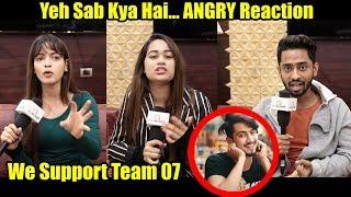 Tik Tok Stars Reaction On Faisu And Team 07 Controversy | Tabrez Ansari lynching Video