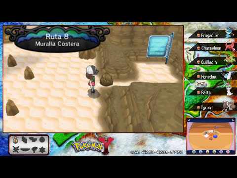 Pokémon Y - Let´s Play 15 - Fosil Mandibula y Caña Vieja