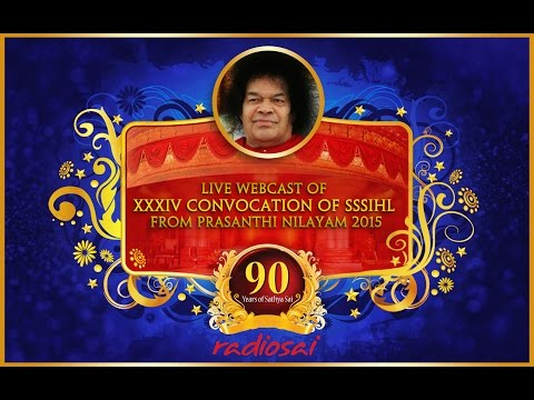 34th Annual Convocation Of Sri Sathya Sai Institute of Higher Learning - 22 Nov 2015