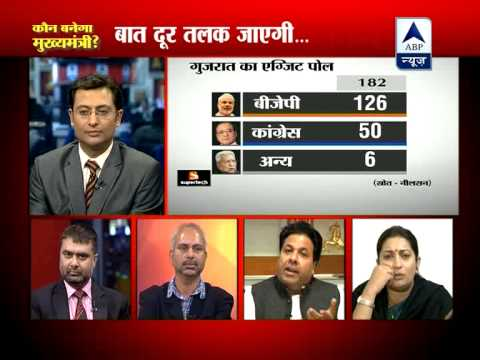 ABP News debate: Rajiv Shukla and Smriti Irani in war of words