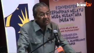 Dr M khuatir Melayu tetap miskin ketika Wawasan 20