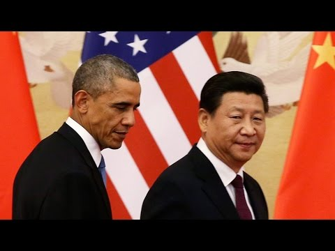 Obama & Xi Jinping Reach Climate Change Agreement