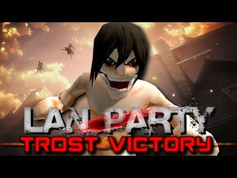 Attack on Titan - Trost Victory - LAN Party