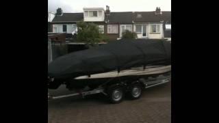 Bootzeil Historie 2011: Maxum speedboot dekzeil
