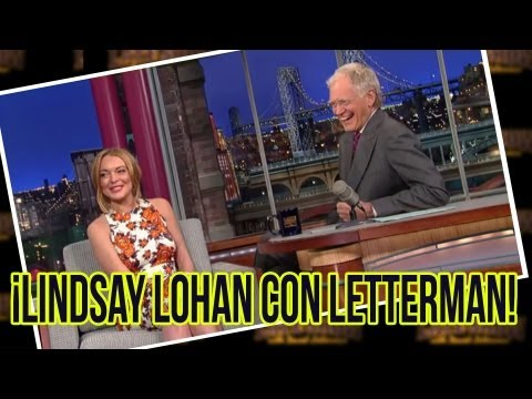 Lindsay Lohan Esperada Entrevista con David Letterman!