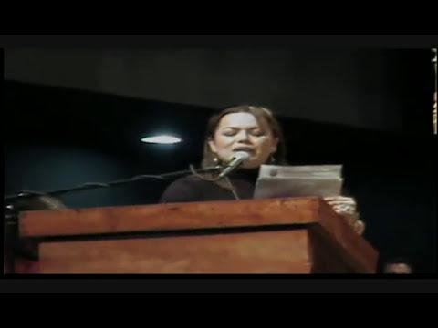 Dip. Erika Ortigoza en la toma de protesta de Martín Esparza