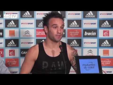 Football / OM : les adieux de Mathieu Valbuena - 05/08