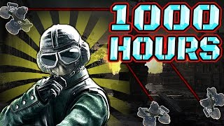 What 1000 HOURS of JAGER Experience Looks Like - Rainbow Six Siege