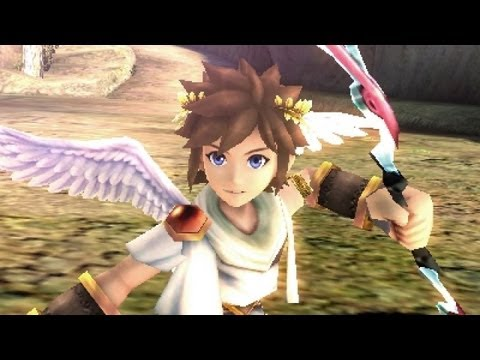 Kid Icarus Uprising - 3DS gameplay