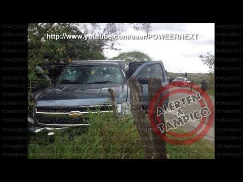 Balaceras y Bloqueos en Altamira, Tamaulipas Los Cartel del Golfo vs Policia Faderal 2014