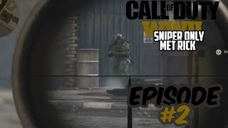Call of duty world war 2 Sniper only tegen rick - #2 - NEE NIET ALWEER