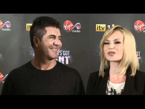 Simon Cowell jokes Amanda Holden 'milked it' when she returned to the BGT judging panel
