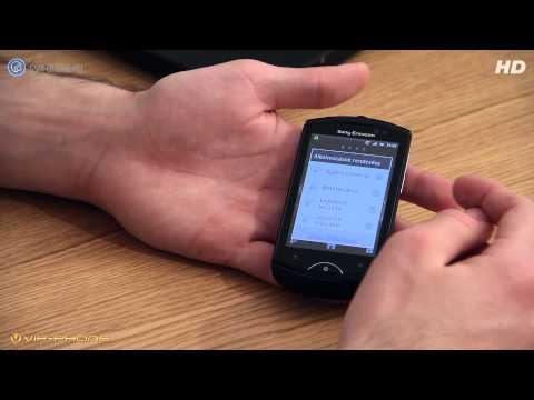 Sony Ericsson Live with Walkman teszt - GSM online™