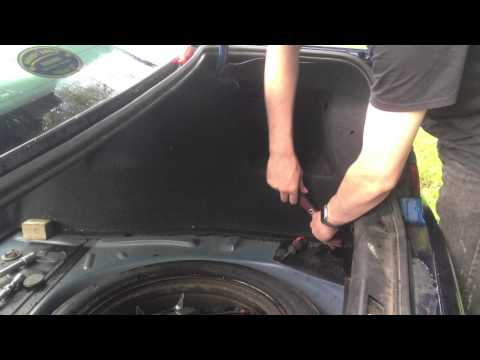 Peugeot 406 Seats and Carpet Removal