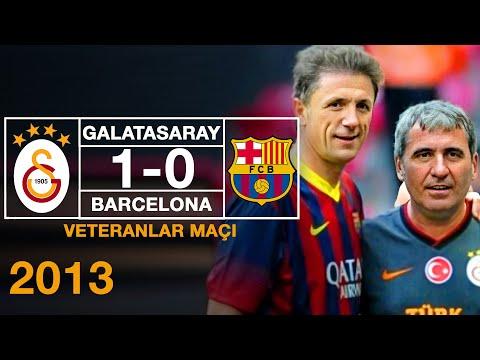 Veteranlar Maçı | Galatasaray 1-0 Barcelona