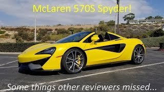 McLaren 570S review - what the other reviewers missed!