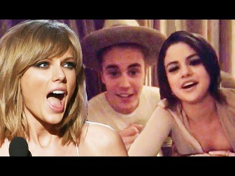 Taylor Swift Reacts to Justin Bieber & Selena Gomez Reunion