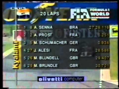 GP von Südafrika Rennen 1.