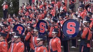 Syracuse Marching Band 2017 Senior Day