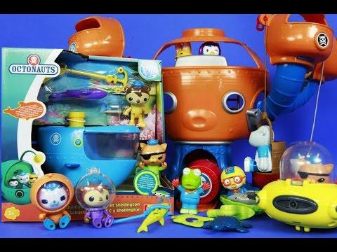 [바다탐험대] 옥토넛 탐험선 C 셀링턴을 개봉 디즈니 쥬니어 버나클, 콰지, 바나클, 셀링턴, 옥토포드 플레이세트 Disney Junior Octonauts Gup-C