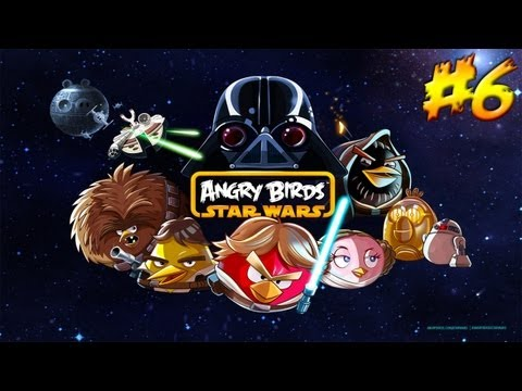 Angry Birds Star Wars прохождение - Серия 6 [The Path of the Jedi 1-15]