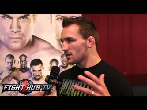 Michael Chandler on Eddie Alvarez losing to Cerrone Looks to finish Will Brooks on Nov 15th