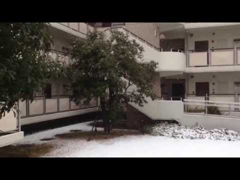 HEAVY SNOW FALL IN TOKYO, JAPAN