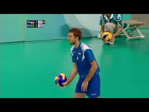Serbia vs Brazil - Men's Volleyball -Beijing 2008 Summer Olympic Games