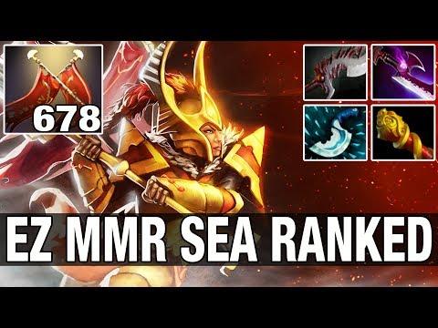EZ MMR SEA RANKED - Ah Jit 7.8K MMR Plays Legion Commander - Dota 2