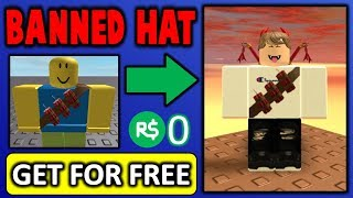 I found out how to get this banned hat for free!