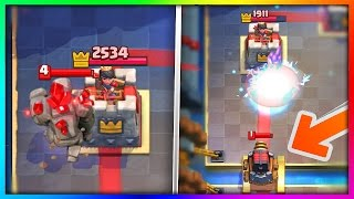 MAKE the ENEMY ATTACK THEIR OWN TOWERS in Clash Royale! | Mythbusters #9