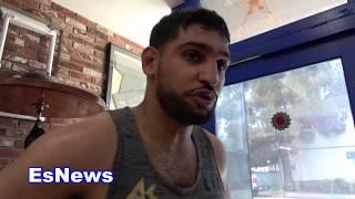Amir Khan Picks Jose Benavidez To Beat Crawford