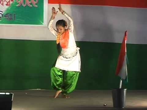 Patriotic Dance, Maa Tujhe Salam By Smrutilipsa Patel.mpg video