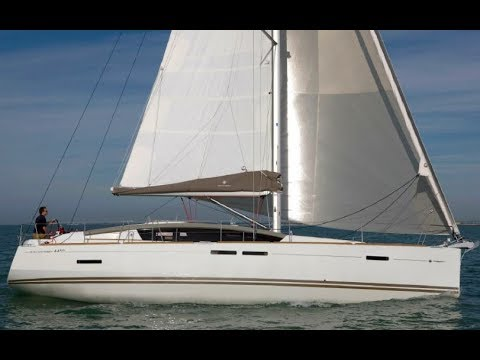 Walk Through On Board The 2018 Jeanneau 44 Deck Salon By: Ian Van Tuyl