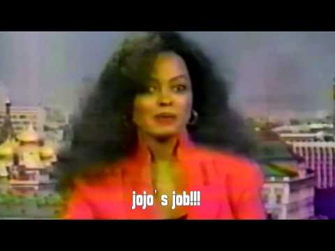 VERY RARE- Diana Ross Interview From Moscow- 1995.