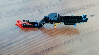 Lego technic sniper rifle - extremely powerful!