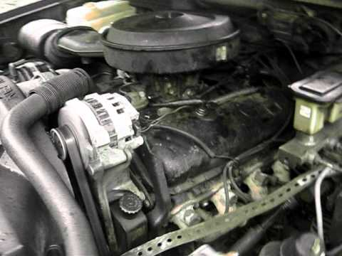 90 GMC 454 engine