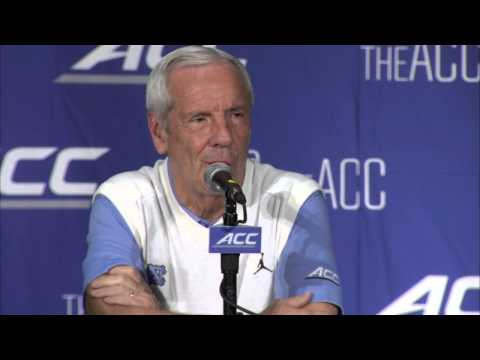 UNC Men's Basketball: Roy Williams at ACC Media Day
