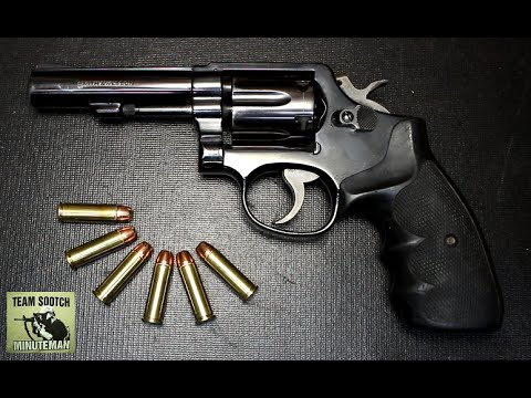 The Most Popular Revolver in the World : S&W Model 10