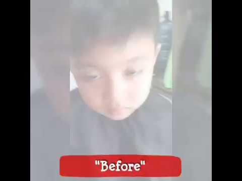 Hot Viral !!! Potong Rambut Bocah Sampe Pipis Di Celana #osen_hairshop