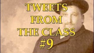 Tweets From the class #9: