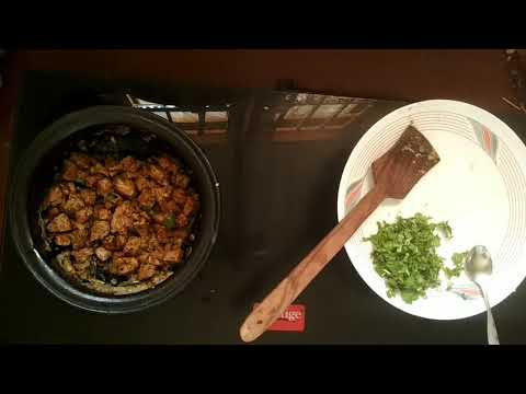 Mutton liver sukka fry -  Traditional method