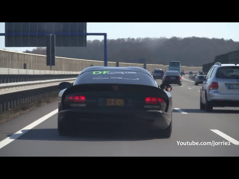 Dodge Viper GTS Heffner LOUD Backfire!! - 1080p HD